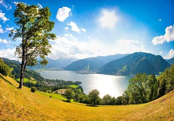 Enjoy a scenic trip to Salzburg in Austria.
