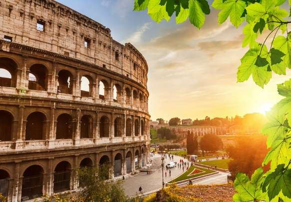 Visit the Colosseum in Italy.
