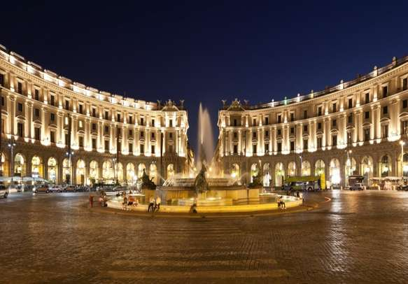 Republic Square in Rome beckons you for a visit