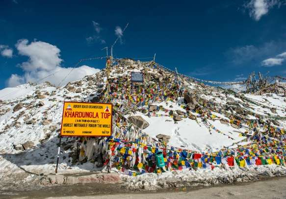 One of the most exciting mountain passes of the world