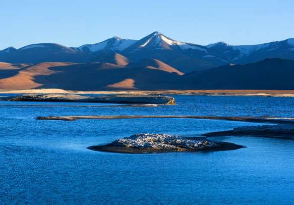 The Tso Kar Lake is a famous tourist attraction in Leh Ladakh.