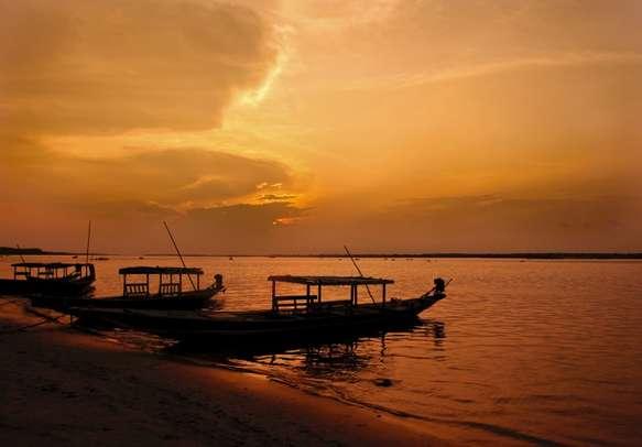 Enjoy the beauty of sunset