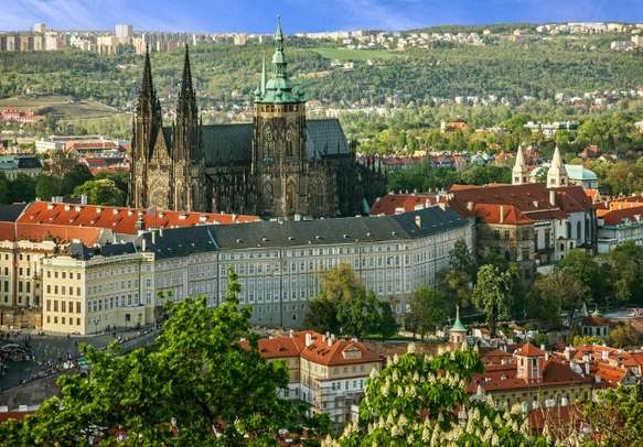 Visit the Prague Castle on this Euro holiday tour itinerary.