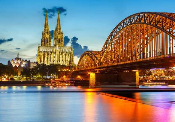 Spend some time at the Cologne Cathedral