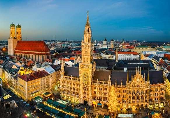 Enjoy witnessing the spellbinding attractions of Munich