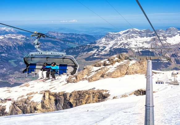 Feel the thrill with a ride in Ice Flyer in Lucerne