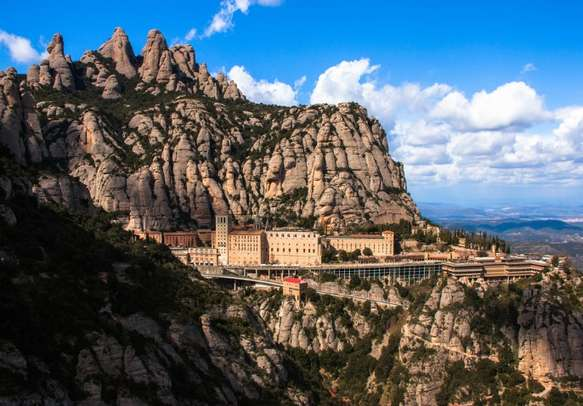 Soak in the serenity of Monastery of Montserrat in Barcelona