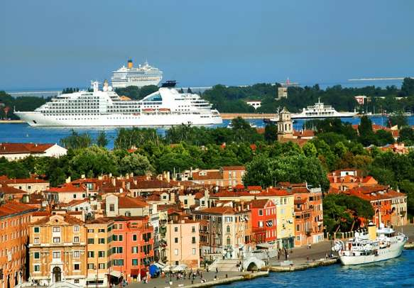 Enjoy a scenic cruise ride during your trip