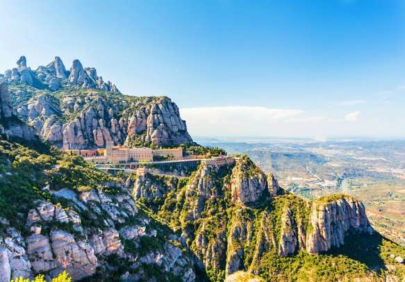 The Monastery of Montserrat awaits your arrival