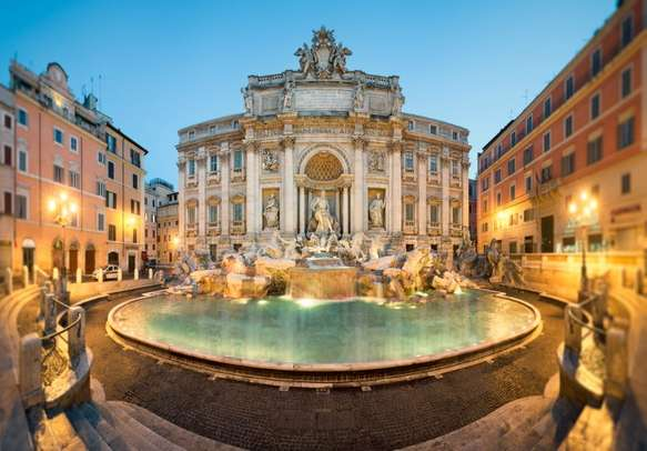 The beauty of Trevi Fountain in Rome will bowl you over
