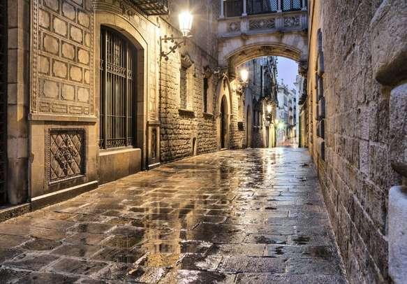 Visit the Gothic Quarter in Barcelona
