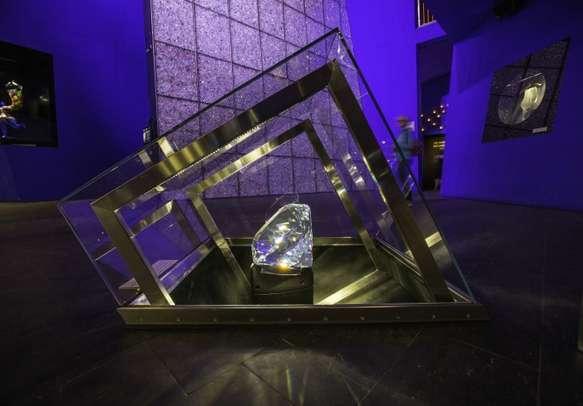 Witness the world's biggest crystal on display at Swarovski Crystal World