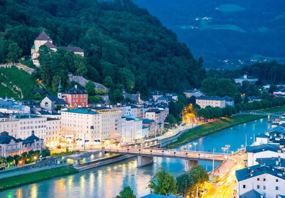 Visit the Old town of Salzburg in Austria on this holiday tour.