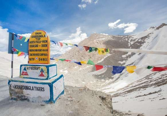 Enjoy your road journey through world's highest motorable pass
