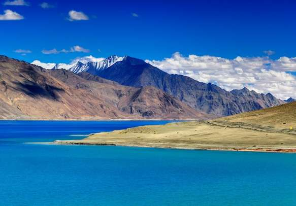 Pangong Tso is almost every traveler's dream