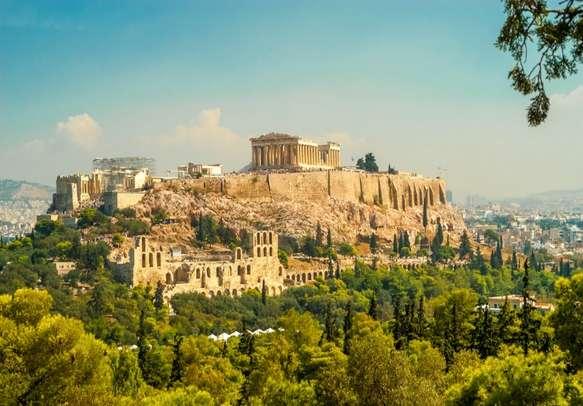 The grand Athens Acropolis