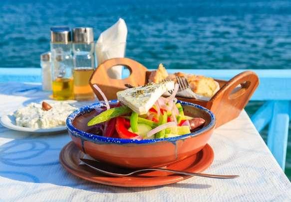 Enjoy Greek flavors