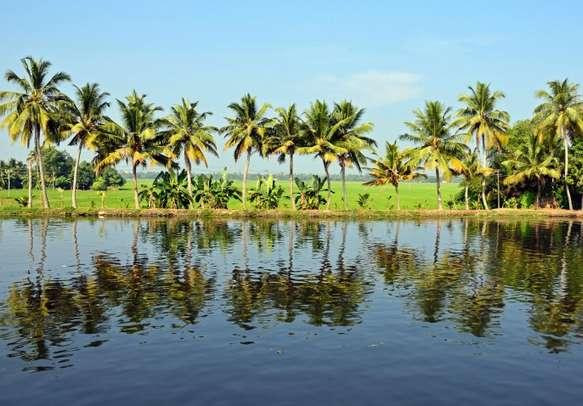 Beautiful lakes and lagoon