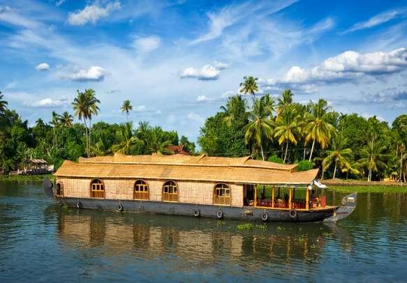 Sail along the Kerala Backwaters