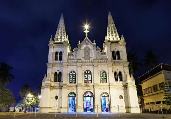 The Santa Cruz Basilica are a must visit on this holiday tour.
