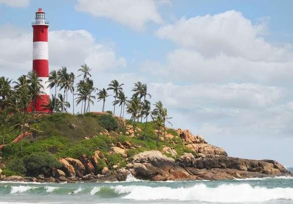 Lighthouse Beach, Kovalam.
