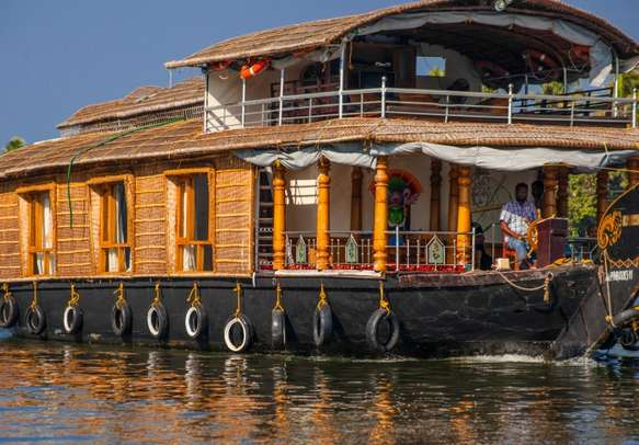 Cruise along the Alleppey backwaters to take in the scenic panorama.