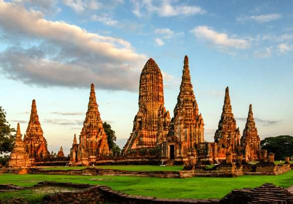 The Beautiful Ayutthaya Wat