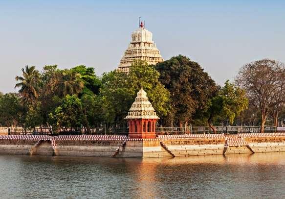 Pay your reverences at Vandiyur Mariamman Teppakulam Temple in Madurai.
