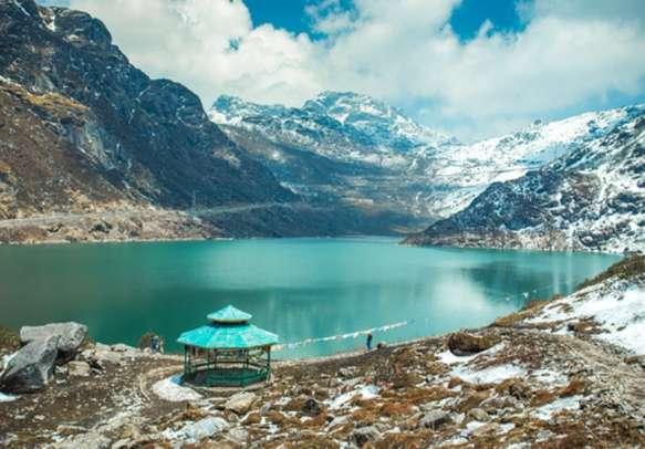 Explore the scenic beauty of Tsomgo Lake on this Sikkim honeymoon tour.