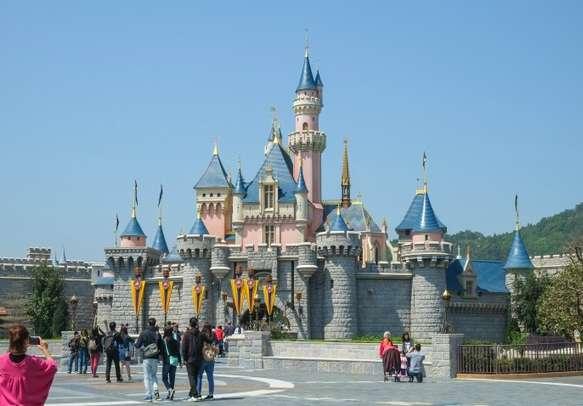 Experience the magic at Hong Kong Disneyland
