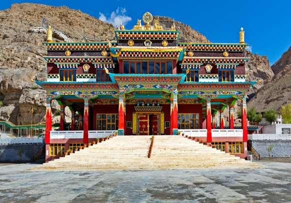 A monastery in Kaza