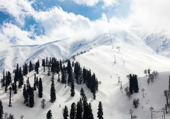 Gulmarg's beautiful landscapes will leave you in awe.
