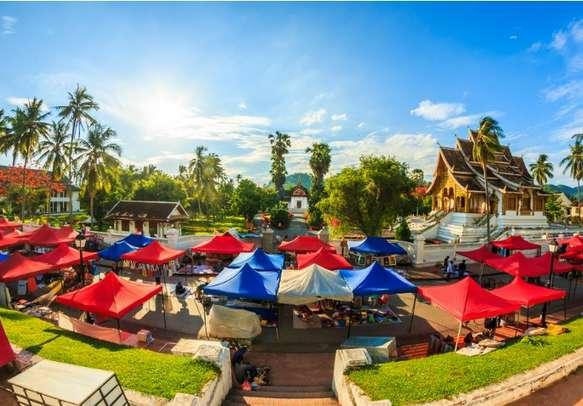 Visit the landmark Royal Palace Museum in Luang Prabang