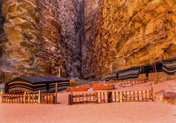 Bedouin Camp in Wadi Rum