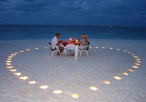 Exotic honeymoon in Maldives