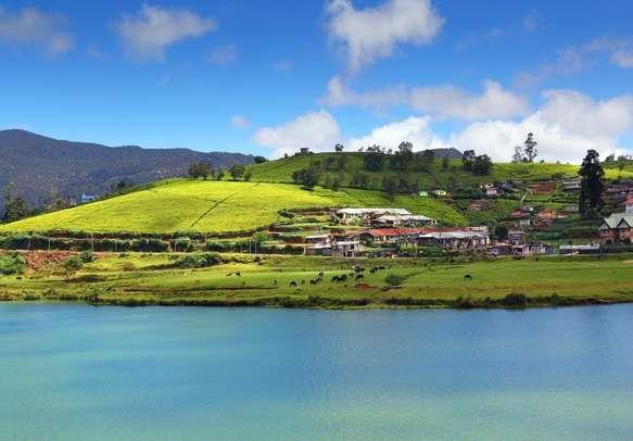 Gregory lake in Nuwara Eliya