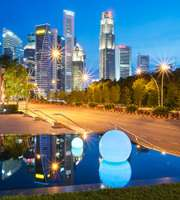 Splendid Singapore Malaysia Thailand tour package from Ahmedabad