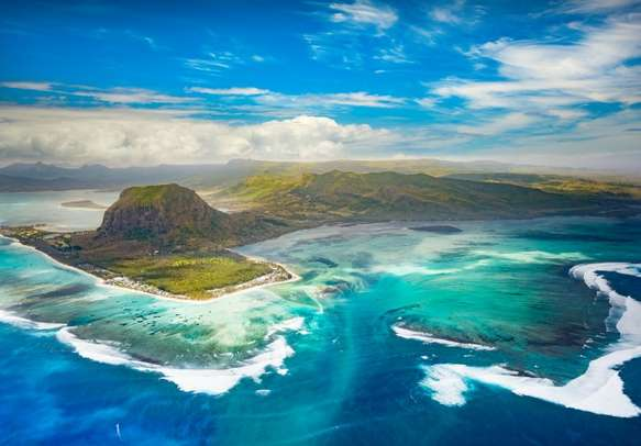 The landscapes in Mauritius are a sight to behold.
