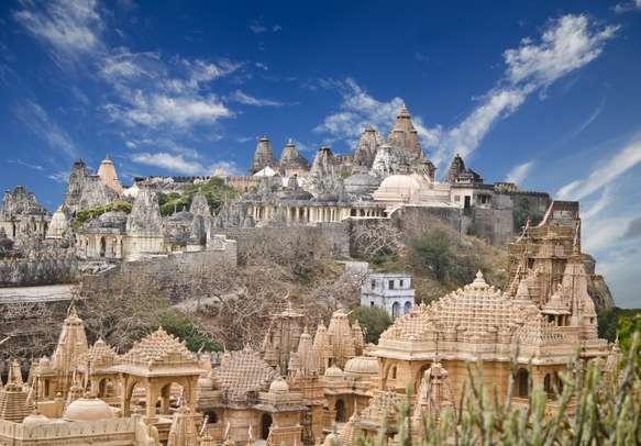 Visit Jain temples, Mount Shatrunjaya as part of your Gujarat tour itinerary.
