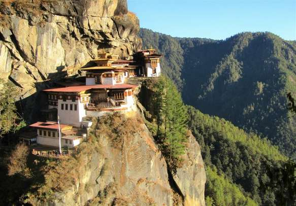 Let Dochula Pass surprise you with its 108 chortens.