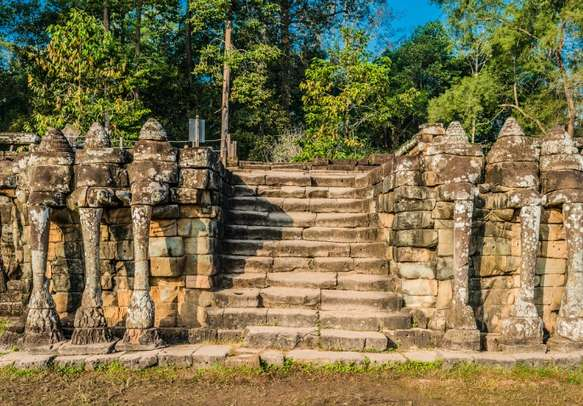 Take an ancient sightseeing tour when in Cambodia