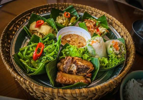 Savor the delicious authentic Cambodian food
