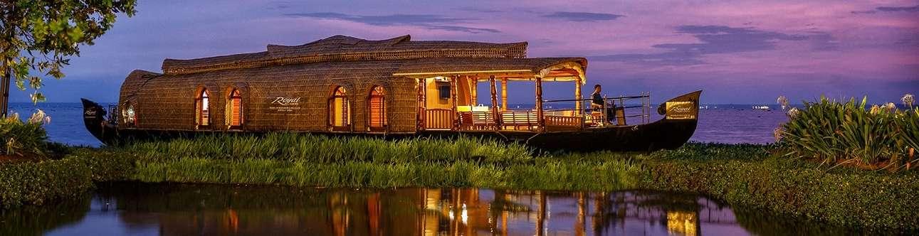 The beautiful Kumarakom backwaters