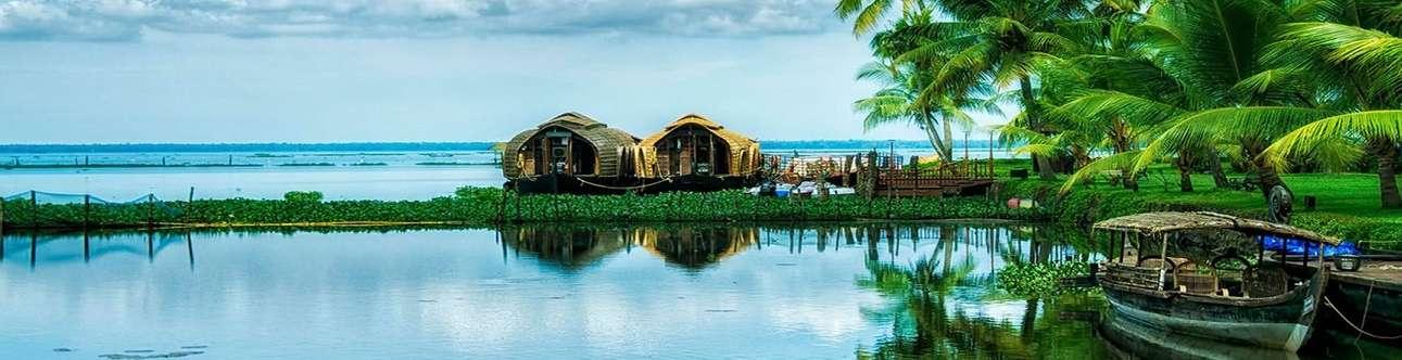 Enjoy the solitude and beautiful views at Pathiramanal Island