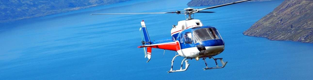 Soar across the Udaipur skies on a helicopter ride.