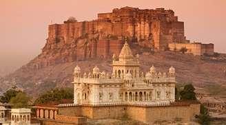 The Royal architectual Mehrangarh Fort of Jodhpur