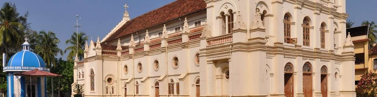 Visit Beautiful Santa Cruz Basillica In Kochi