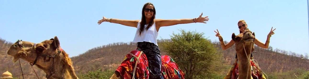Experience the joys of camel safari in Jaipur