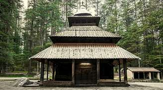 One of the best tourist spots in Manali, Hadimba Temple