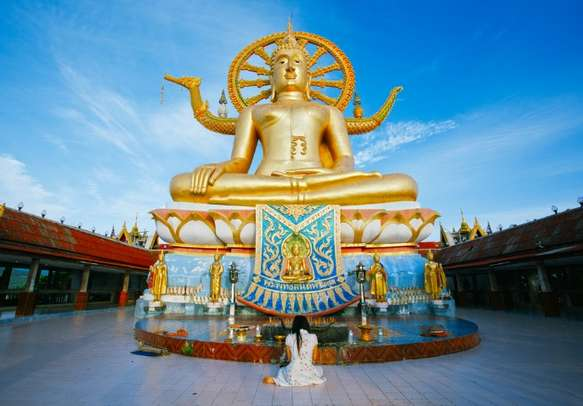 Feel enchanted by the Buddhist temples in Bangkok on a day tour